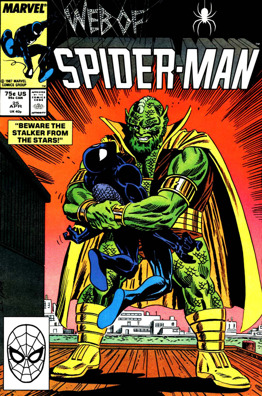 Web of Spider-Man issue #25