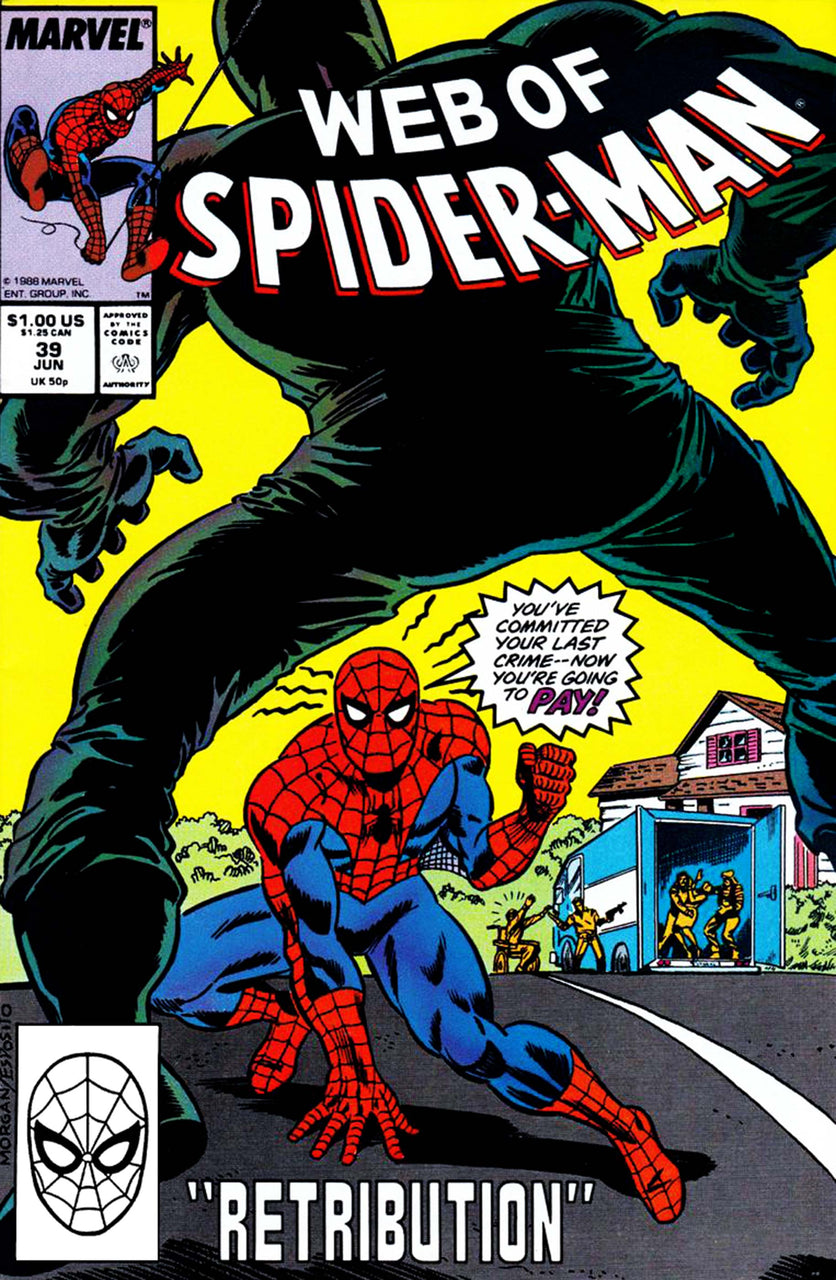 Web of Spider-Man issue #39