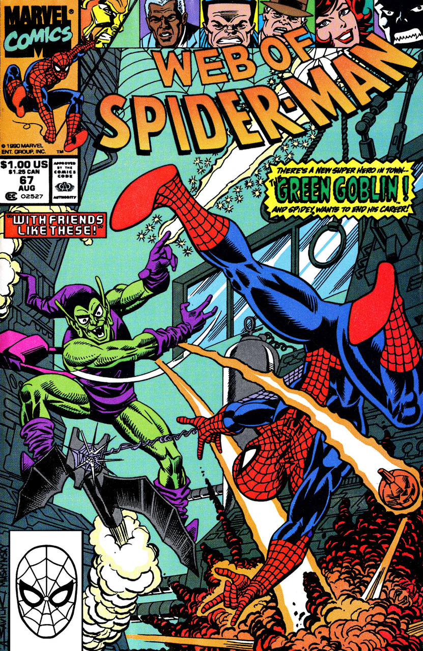 Web of Spider-Man issue #67