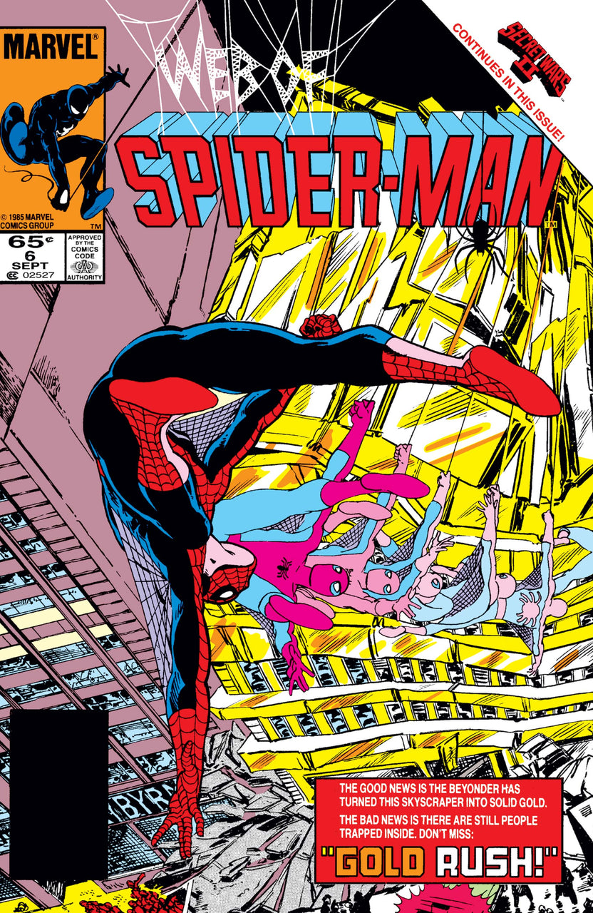 Web of Spider-Man issue #6