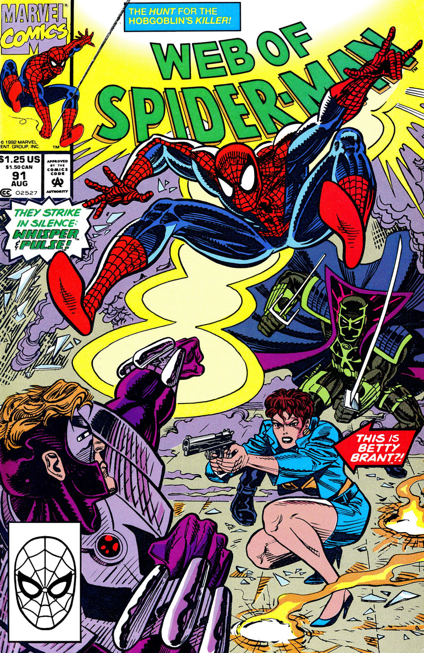 Web of Spider-Man issue #91