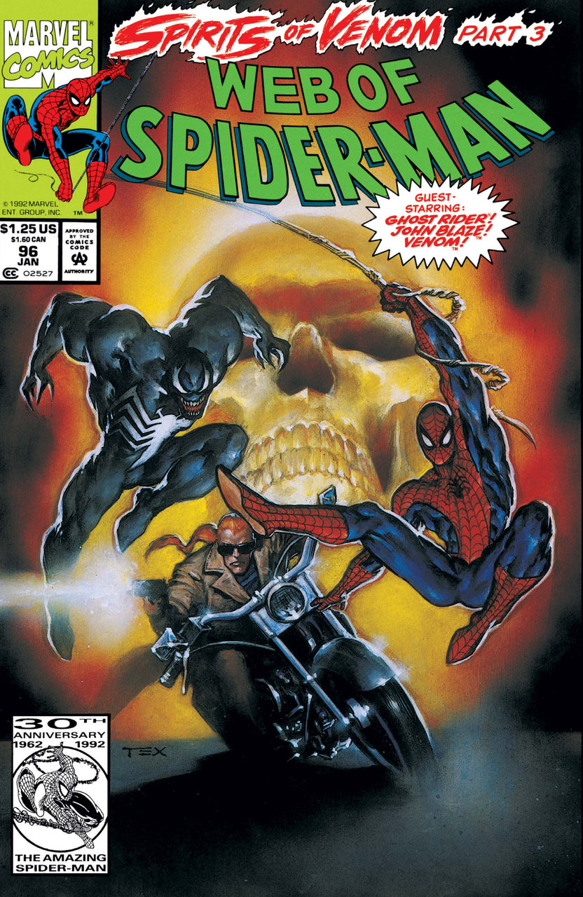 Web of Spider-Man issue #96