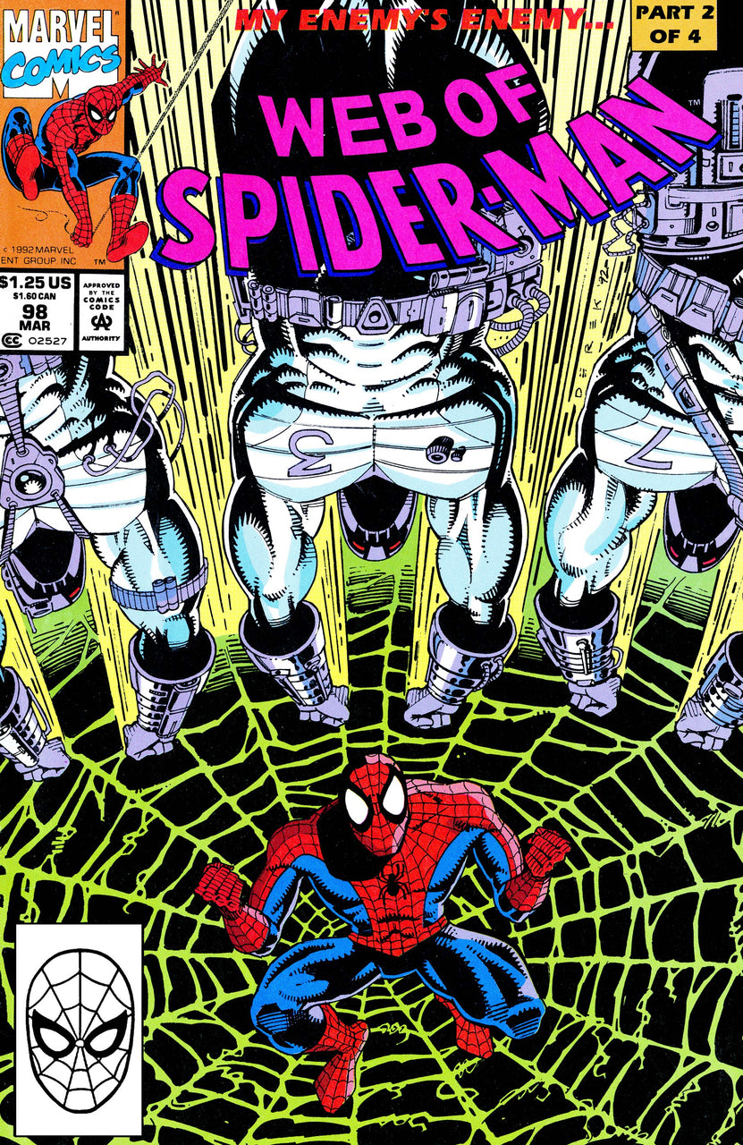Web of Spider-Man issue #98