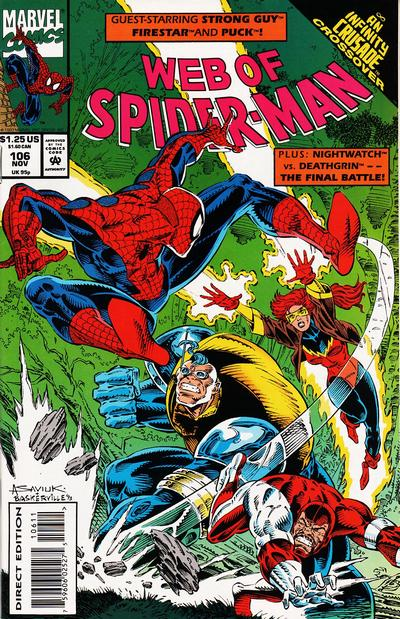 Web of Spider-Man issue #106