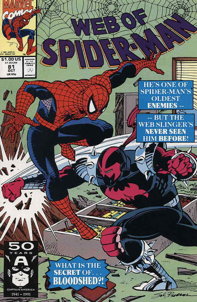 Web Of Spider-Man issue #81