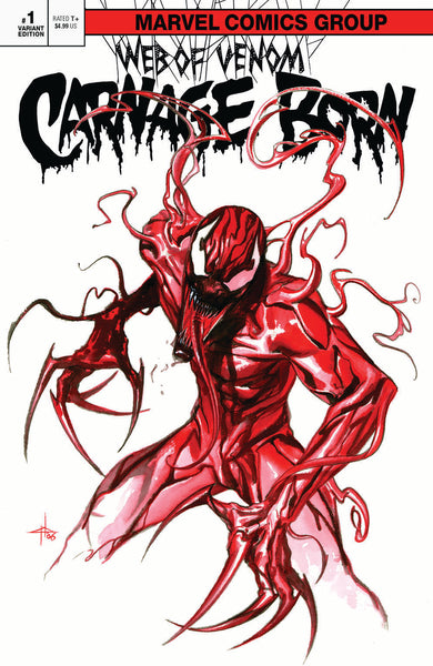Web Of Venom : Carnage Born Classic & Virgin Set variant issue #1 igcomicstore exclusive by Gabriele Dell'Otto