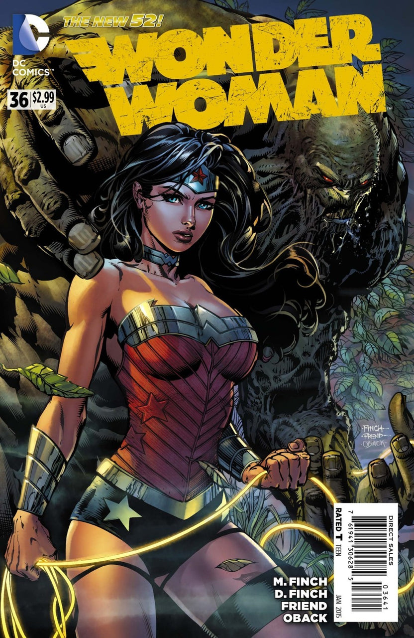 Wonder Woman 1:100 variant issue #36