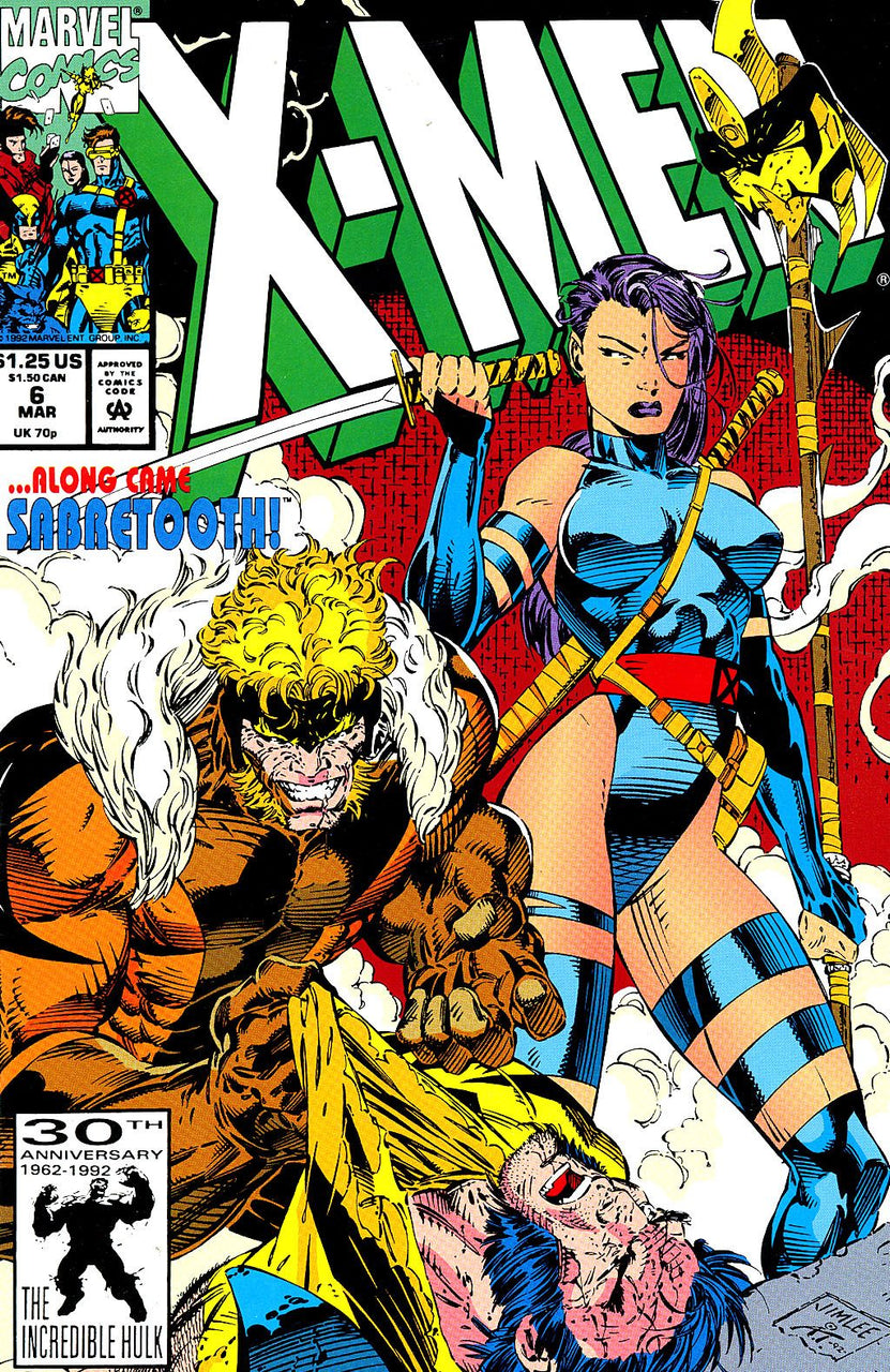 X-MEN issue #6 Jim Lee igcomicstore