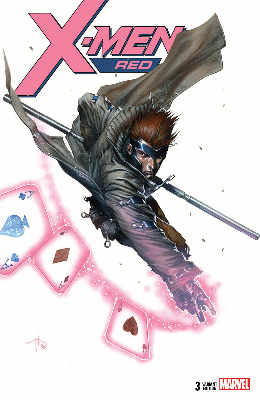 X-Men Red igcomicstore Variant issue #3 Gabriele Dell'Otto Gambit