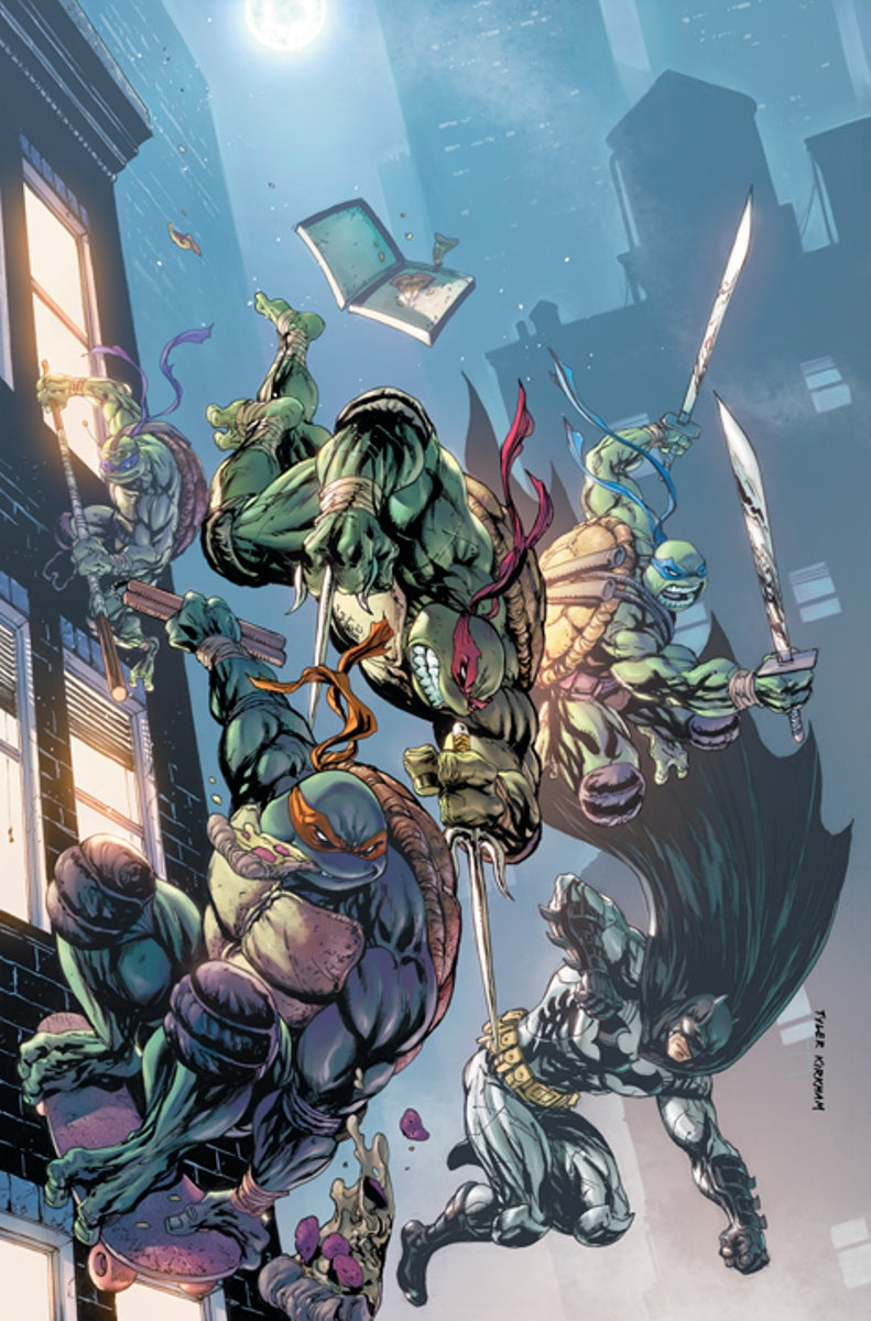 Batman Teenage Mutant Ninja Turtles Variant issue #1