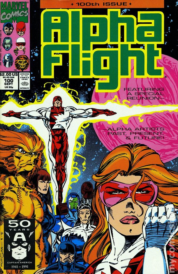 Alpha Flight issue #100