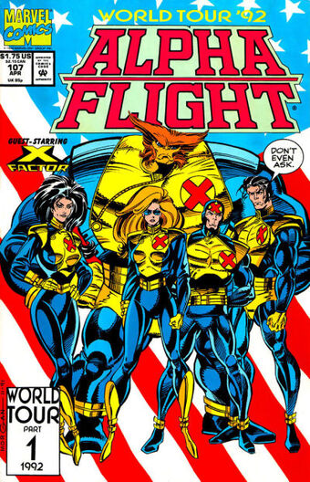 Alpha Flight issue #107