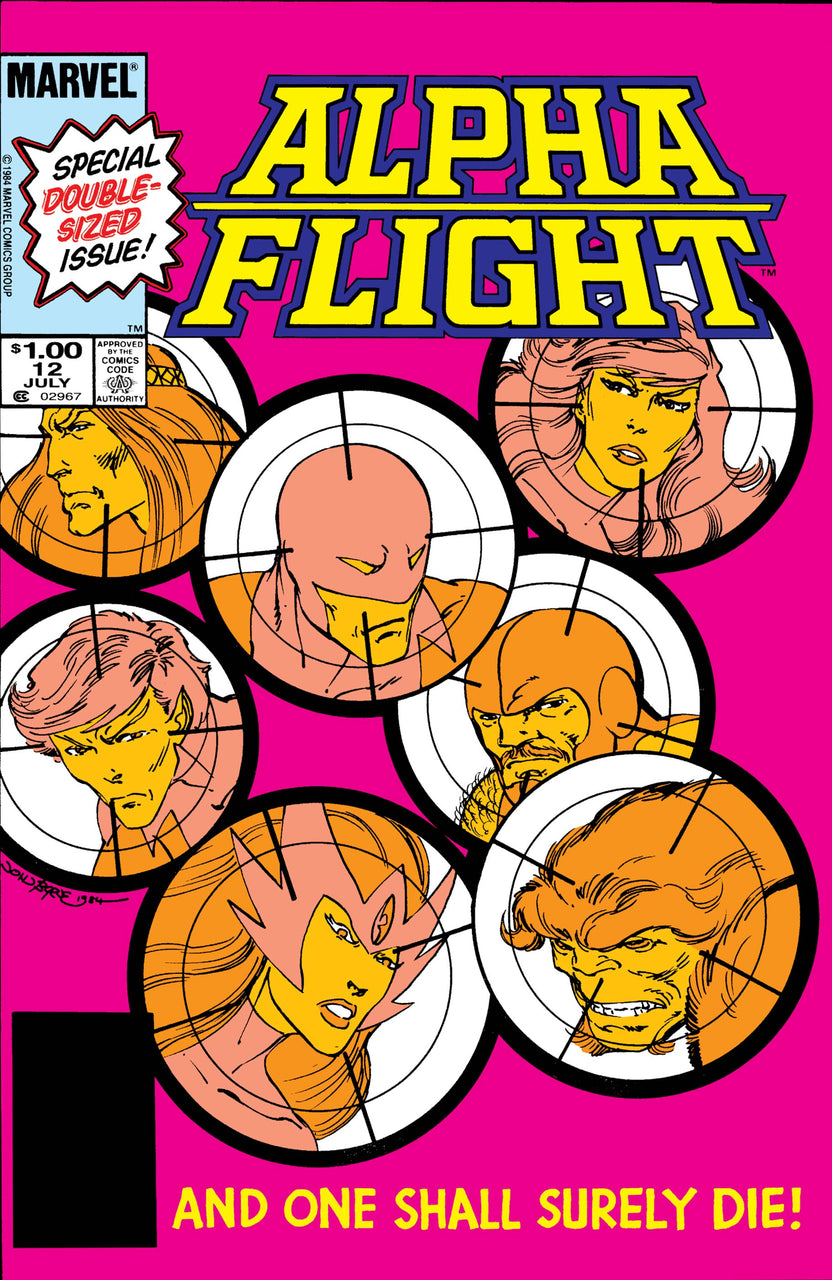 Alpha Flight issue #12 John Byrne igcomicstore