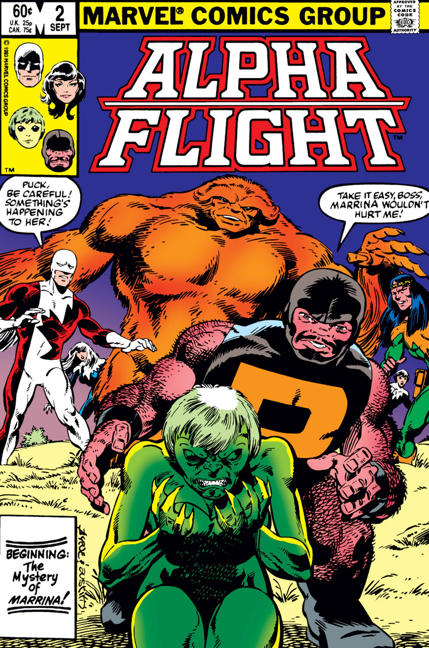 Alpha Flight issue #2 John Byrne igcomicstore