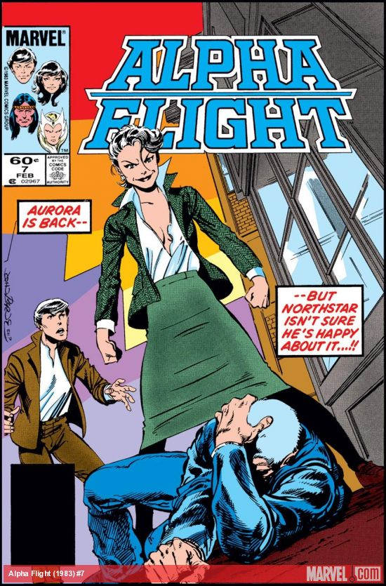Alpha Flight issue #7