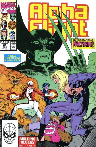 Alpha Flight issue #87 Jim Lee igcomicstore