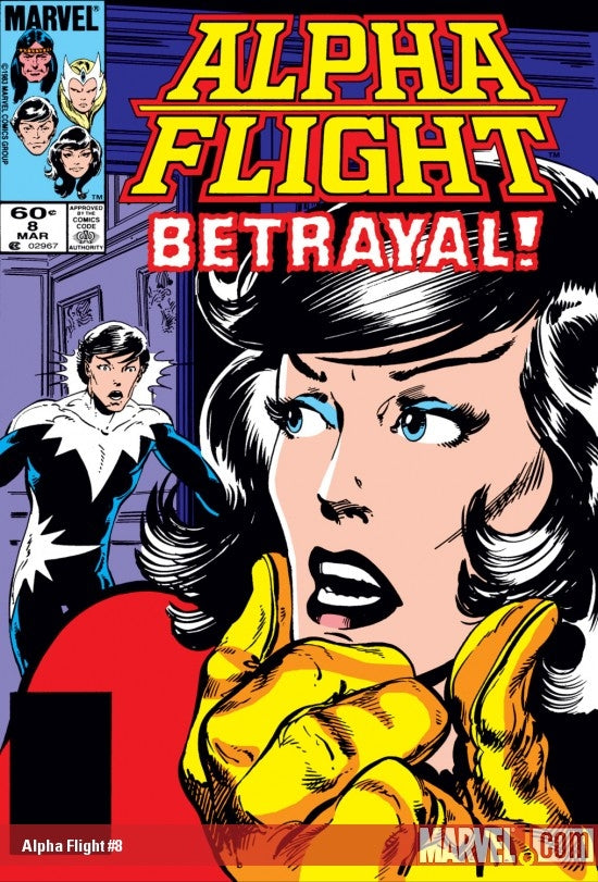 Alpha Flight issue #8 John Byrne igcomicstore