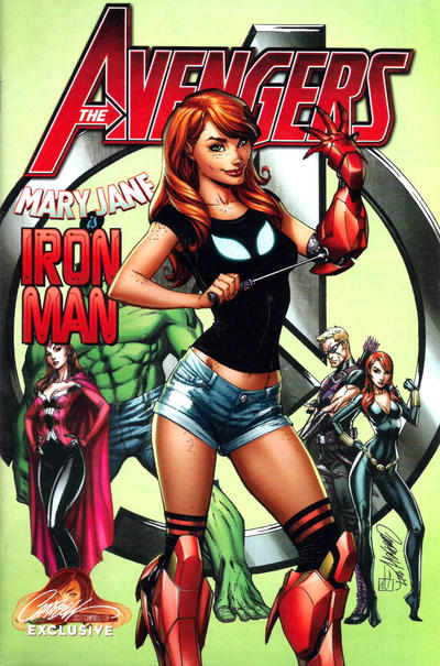 Avengers exclusive Variant issue #8 J Scott Campbell