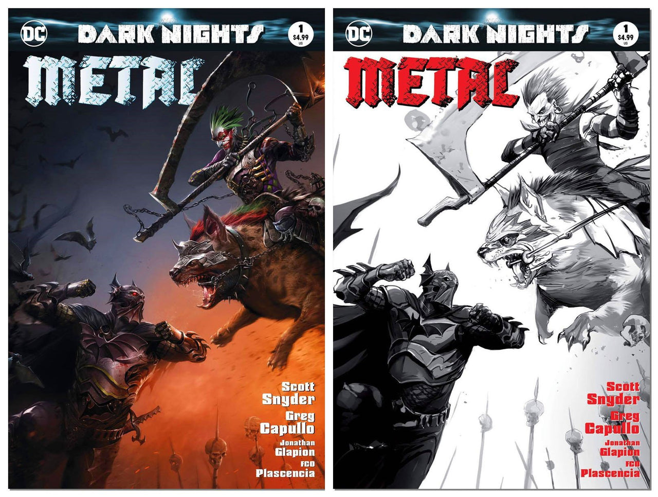 Dark Nights: Metal Variant Set issue #1