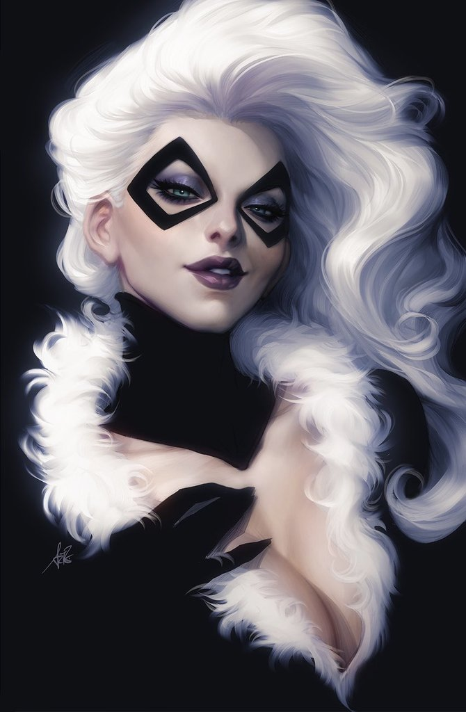 Blackcat Variant issue #1 Artgerm igcomicstore