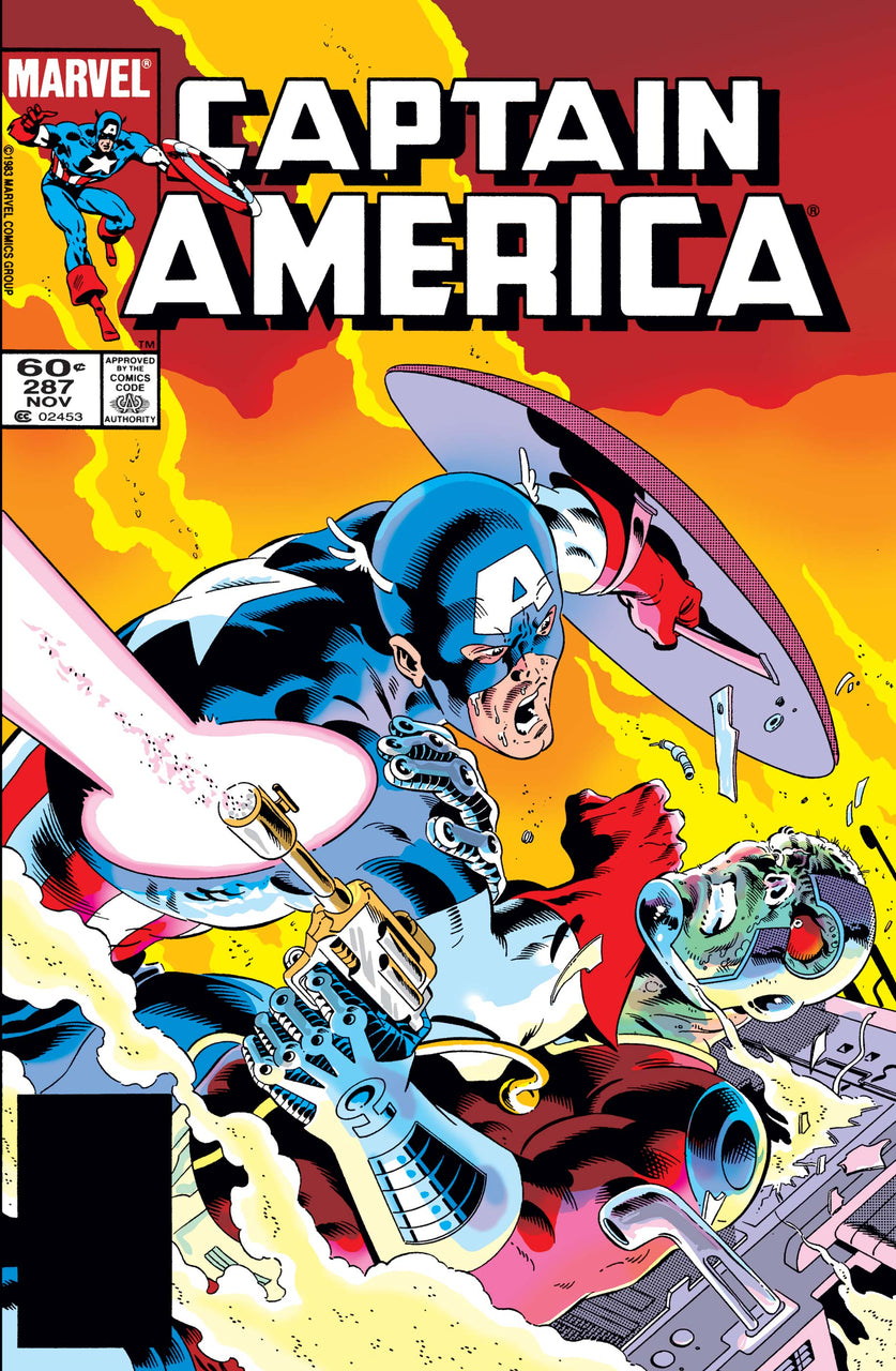 Captain America Canadian Price Variant issue #287