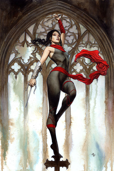 Elektra 1:25 Variant issue #2