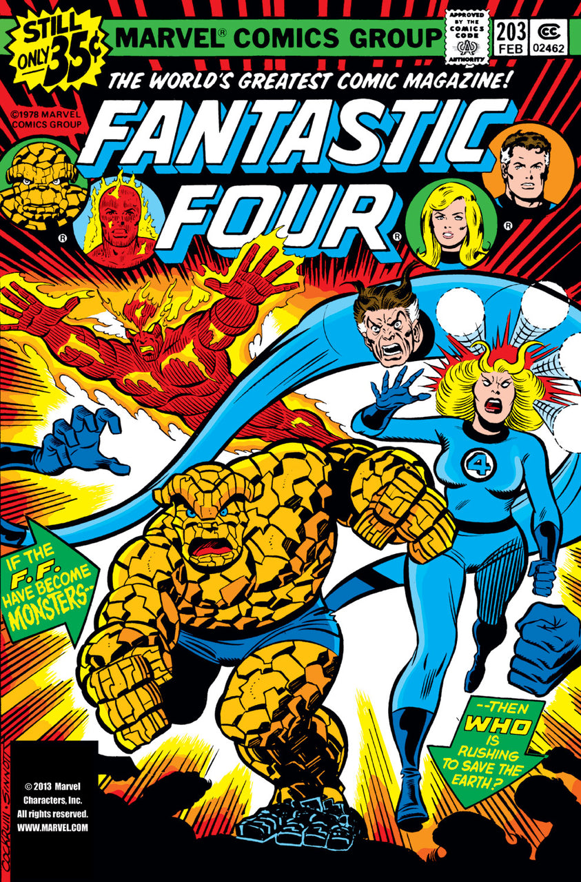 Fantastic Four issue #203