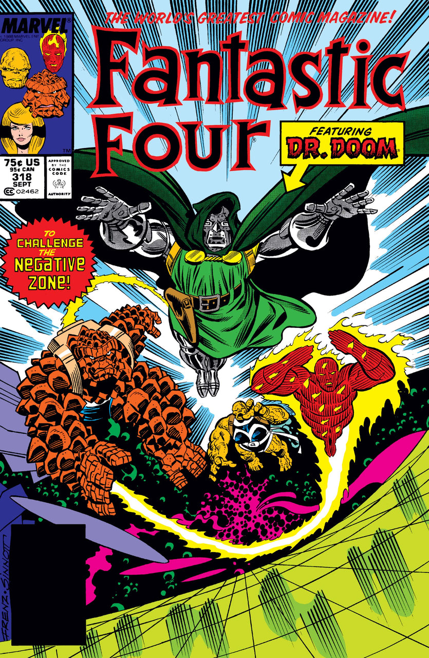 Fantastic Four issue #318