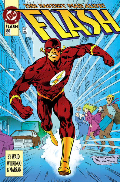 The Flash Foil Cover issue #80