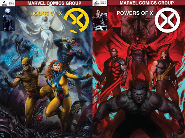House of X & Powers of X Classic Trade Variant Set issue #1