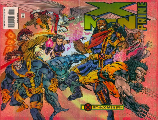 X-MEN: Prime Acetate Foil Wraparound Cover issue #1 CGC 9.8