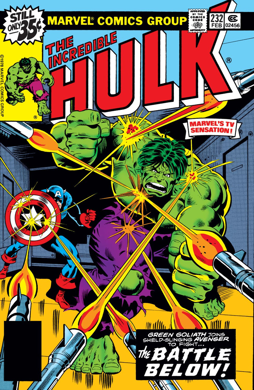 Incredible HULK issue #232
