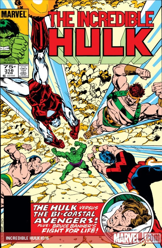Incredible HULK issue #316