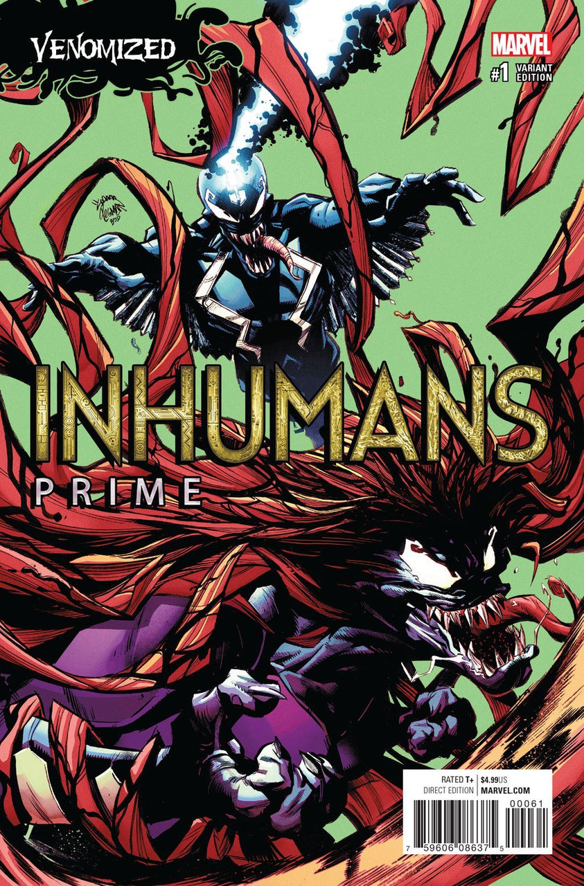 Inhumans Prime Venom Variant issue #1