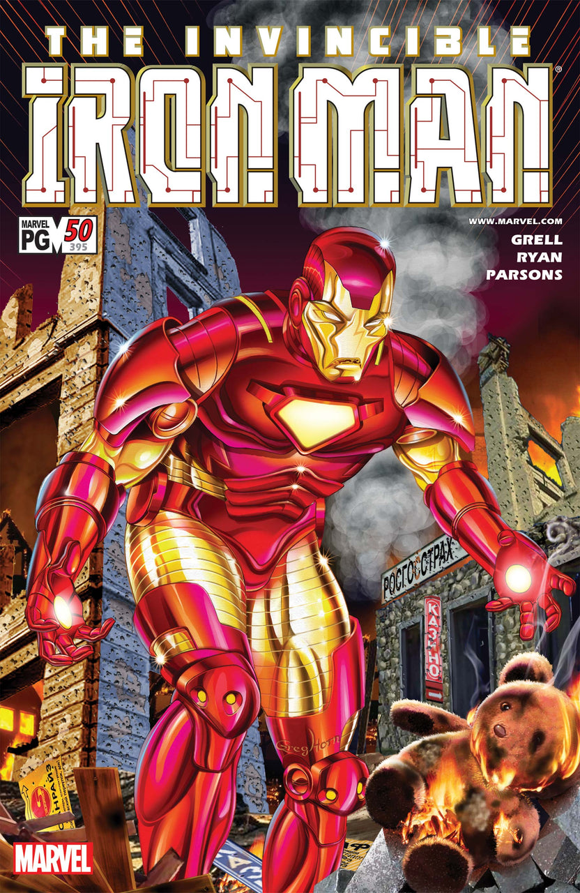 Invincible Iron Man issue #50 ( PSR #395 )
