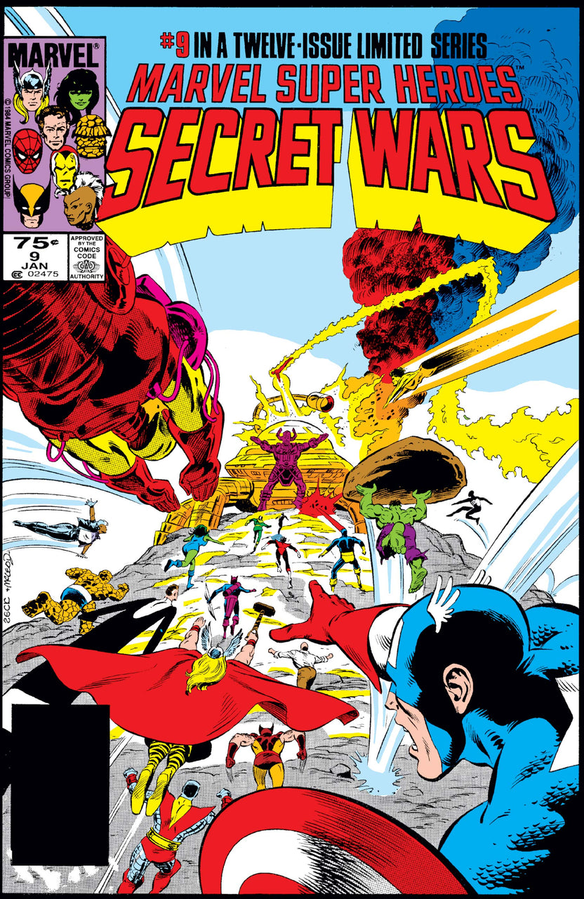 Marvel Super Heroes Secret Wars issue #9 Mike Zeck igcomicstore