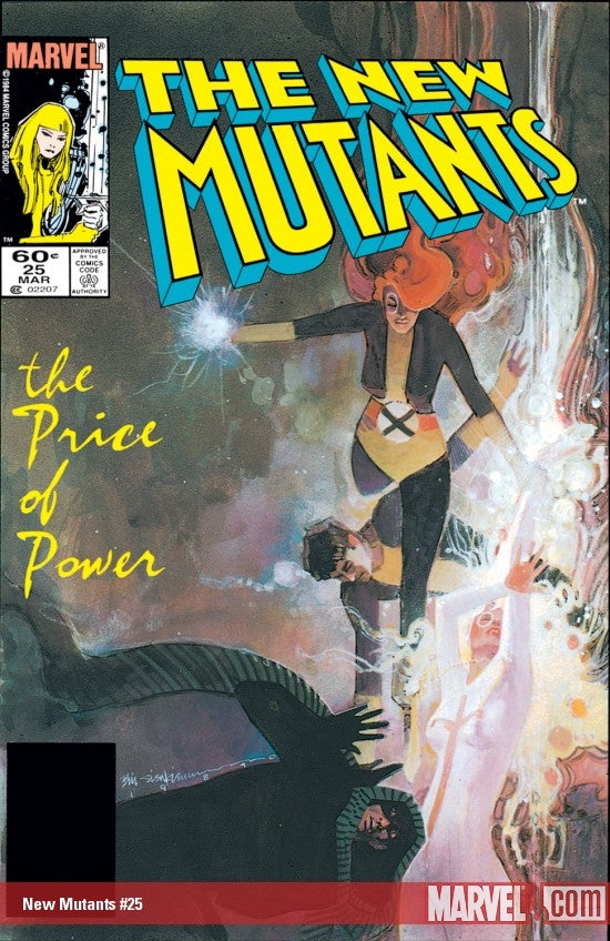 New Mutants issue #25 Bill Sienkiewicz igcomicstore