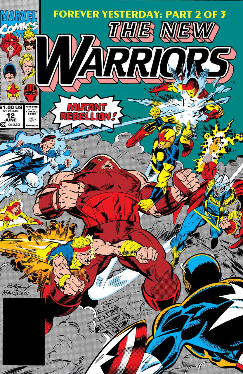 New Warriors issue #12