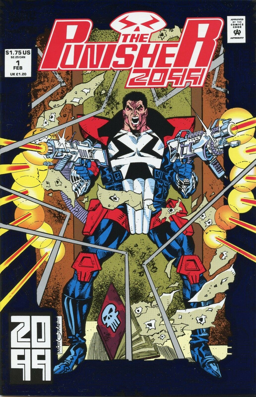 Punisher 2099 Foil Cover issue #1