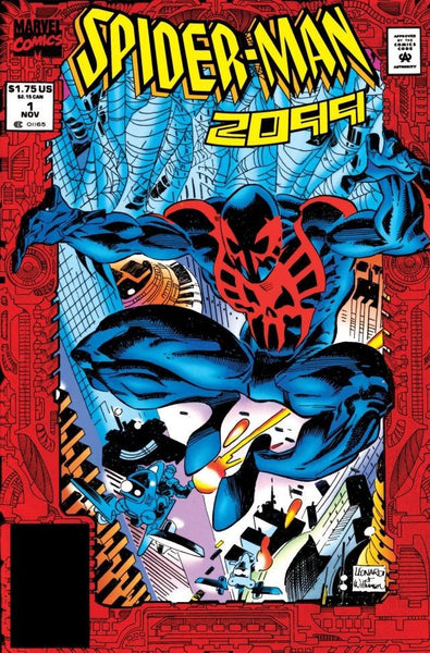 Spider-Man 2099 Foil Cover issue #1