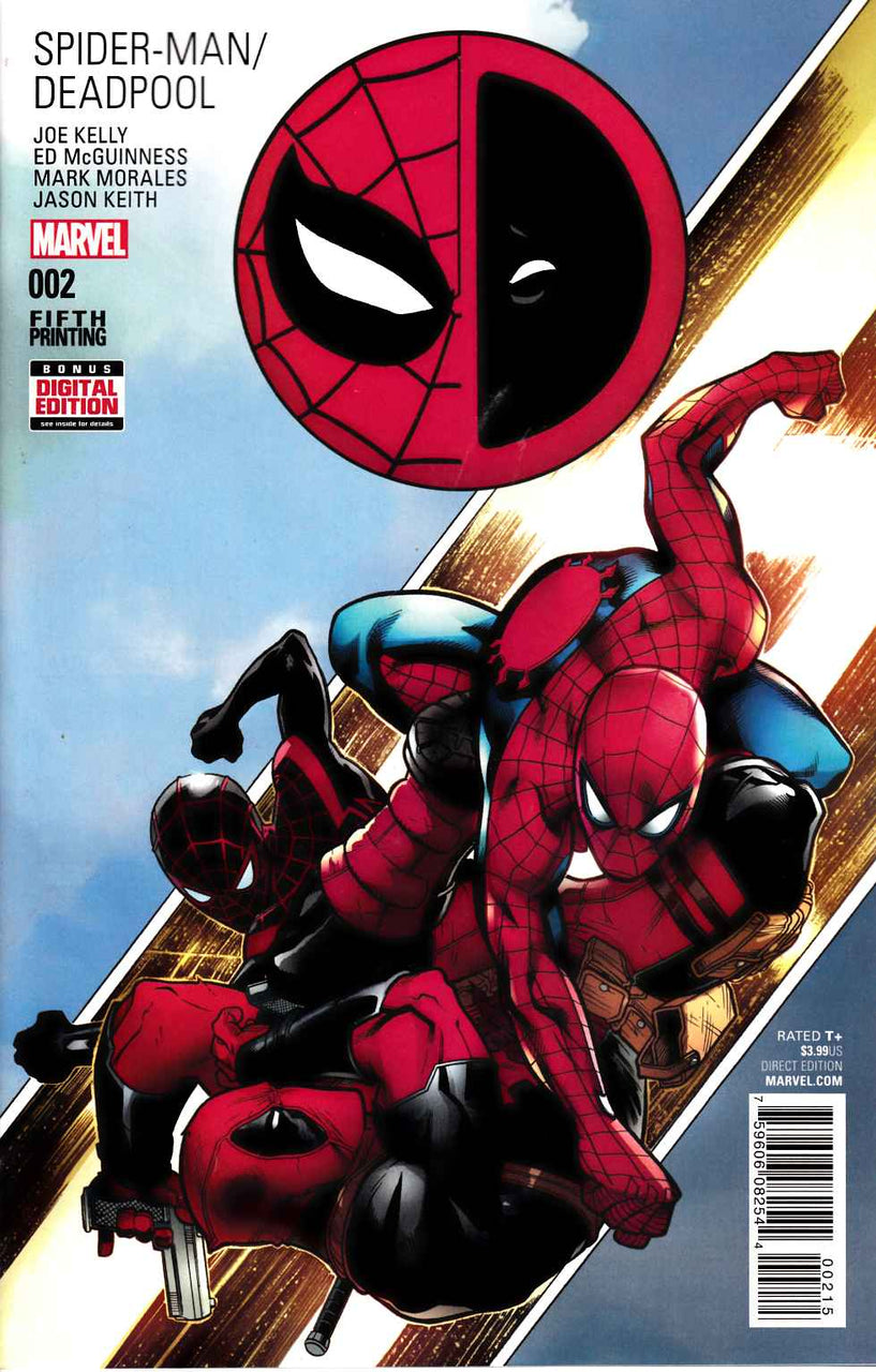 Spider-Man / Deadpool 5th Variant issue #2