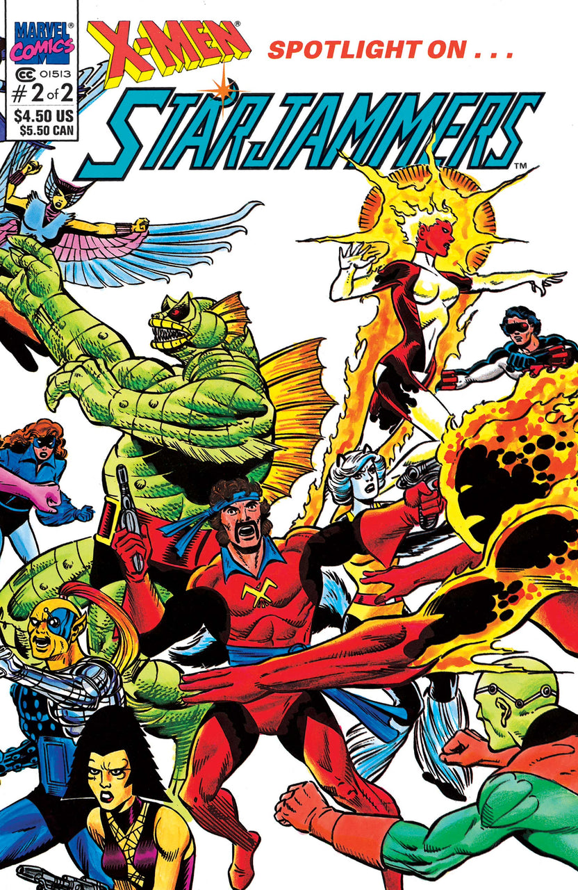 X-MEN Starjammers Wraparound Cover issue #2