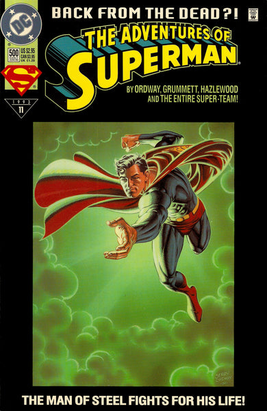 Superman issue #500