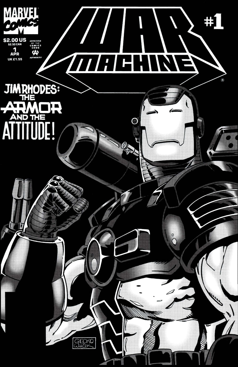 War Machine issue #1 ( FOIL EMBOSSED COVER )