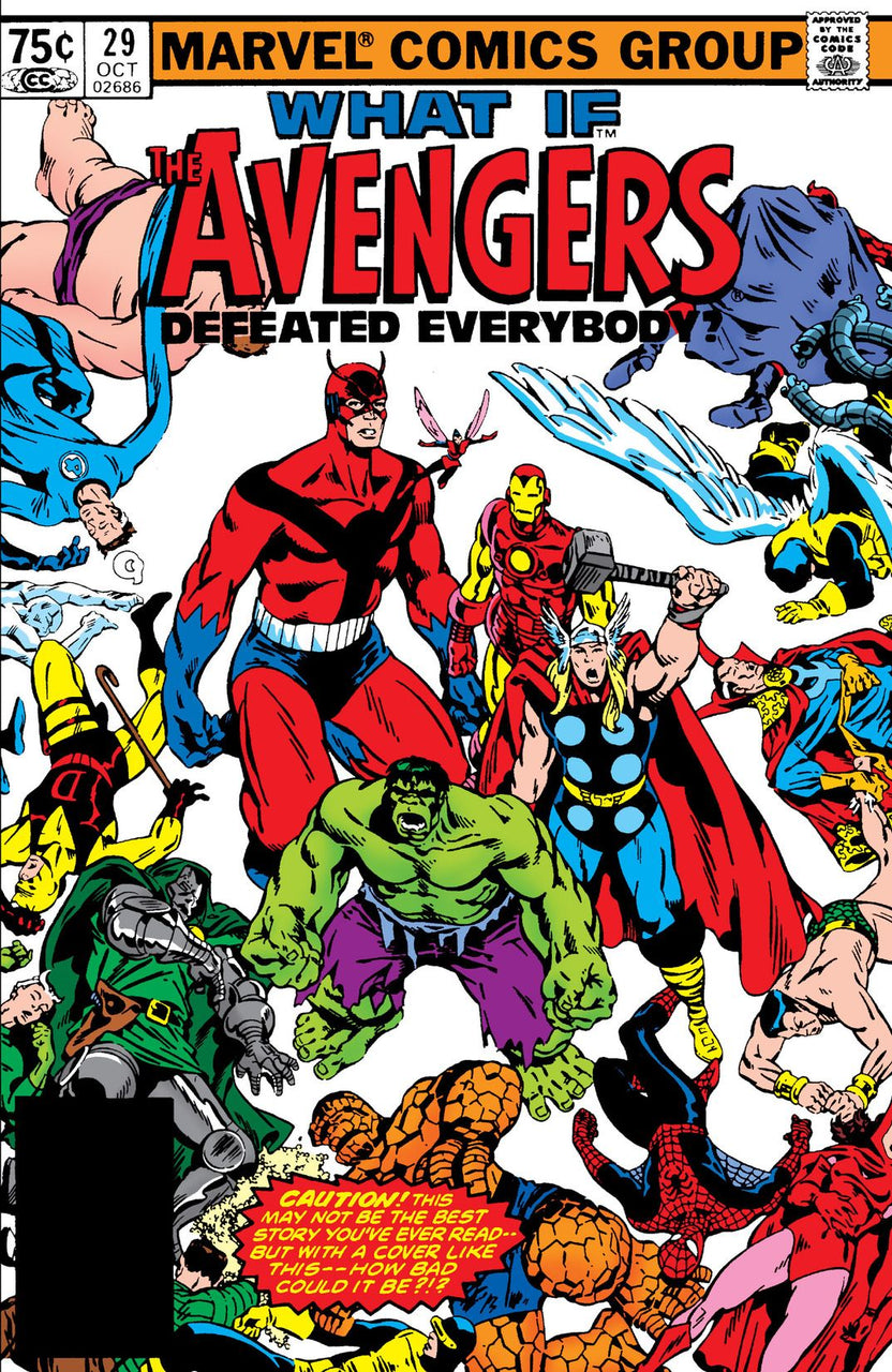 What IF? The Avengers Defeated Everybody issue #29