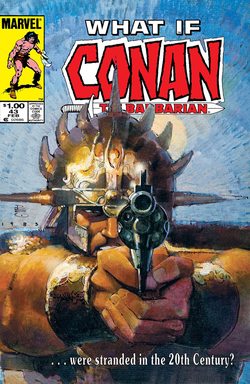 What If Conan The Barbarian? issue #43