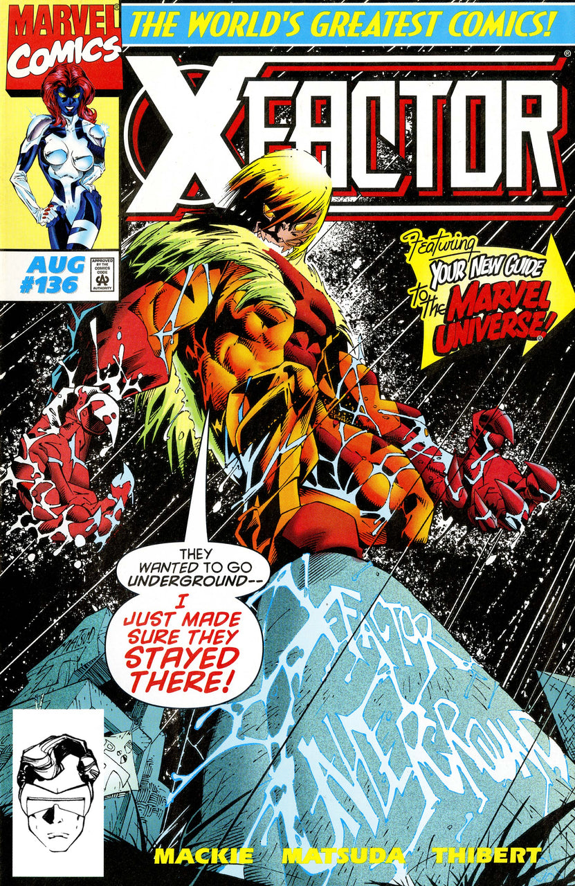 X-Factor issue #136