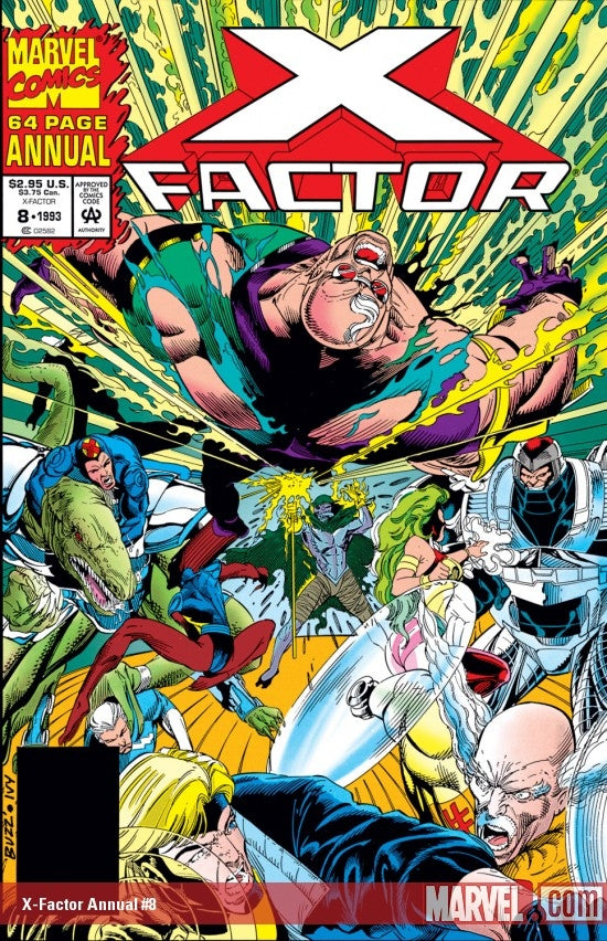X-Factor Polybagged Annual #8