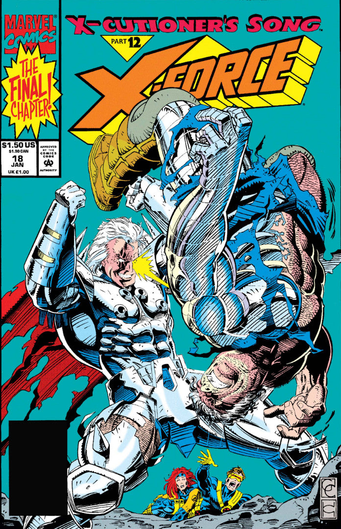 X-Force Polybagged issue #18