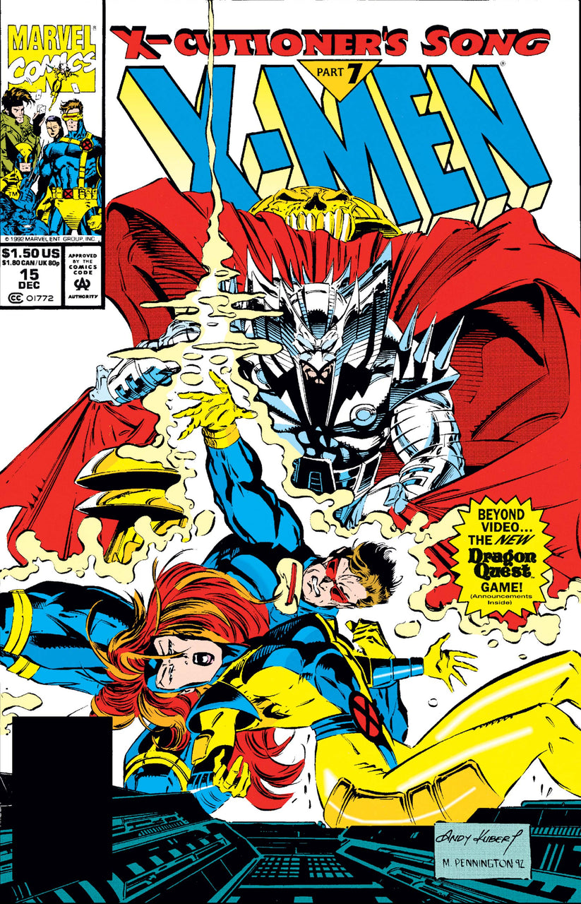X-MEN Polybagged issue #15